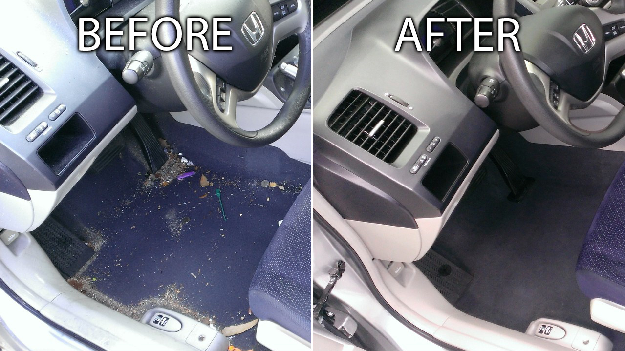 Hondaaccord Beforeafter Interiordetail Auto Detailing